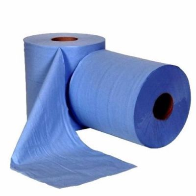BLUE PAPER ROLL 2PLY